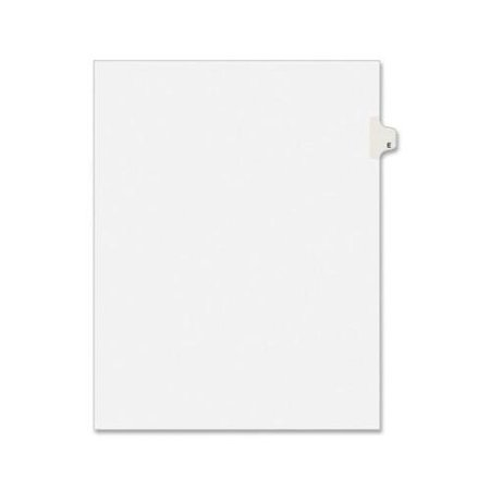 Avery Individual Legal Tab Divider AVE82167 Avery Individual Legal Tab Dividers