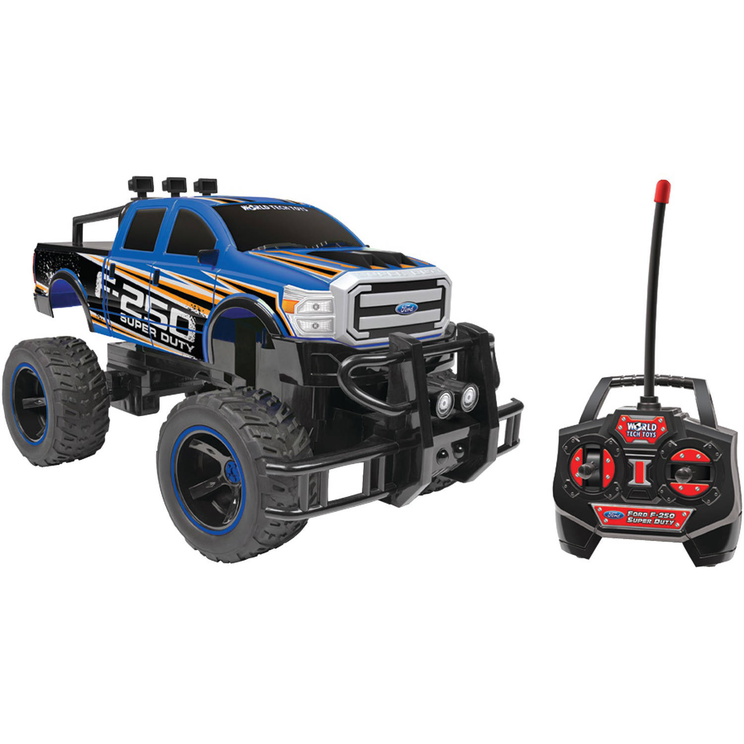 World Tech Toys 35995 114-Scale Licensed Ford RC Truck (Ford F-250 Super Duty)