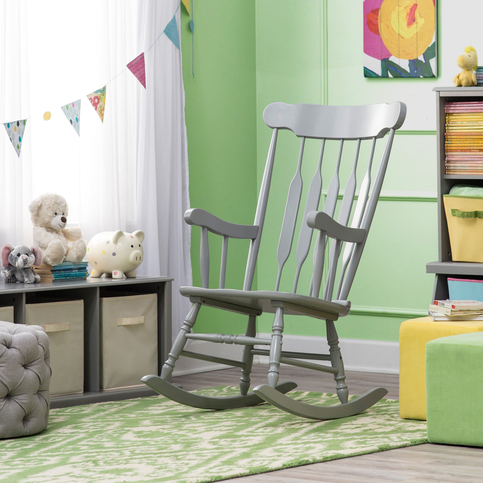 Belham Living Nursery Rocker - Gray
