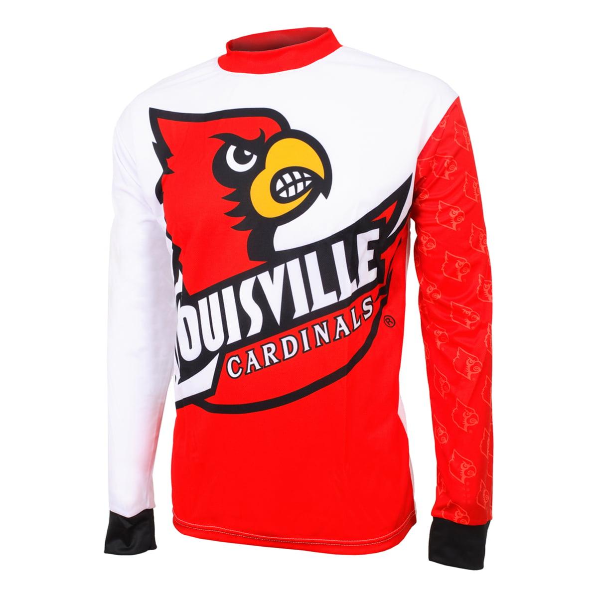 Adrenaline Promotions University of Louisville Cardinals Long Sleeve Mountain Bike Jersey