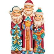G Debrekht Derevo 3 Piece Santa Tall Set