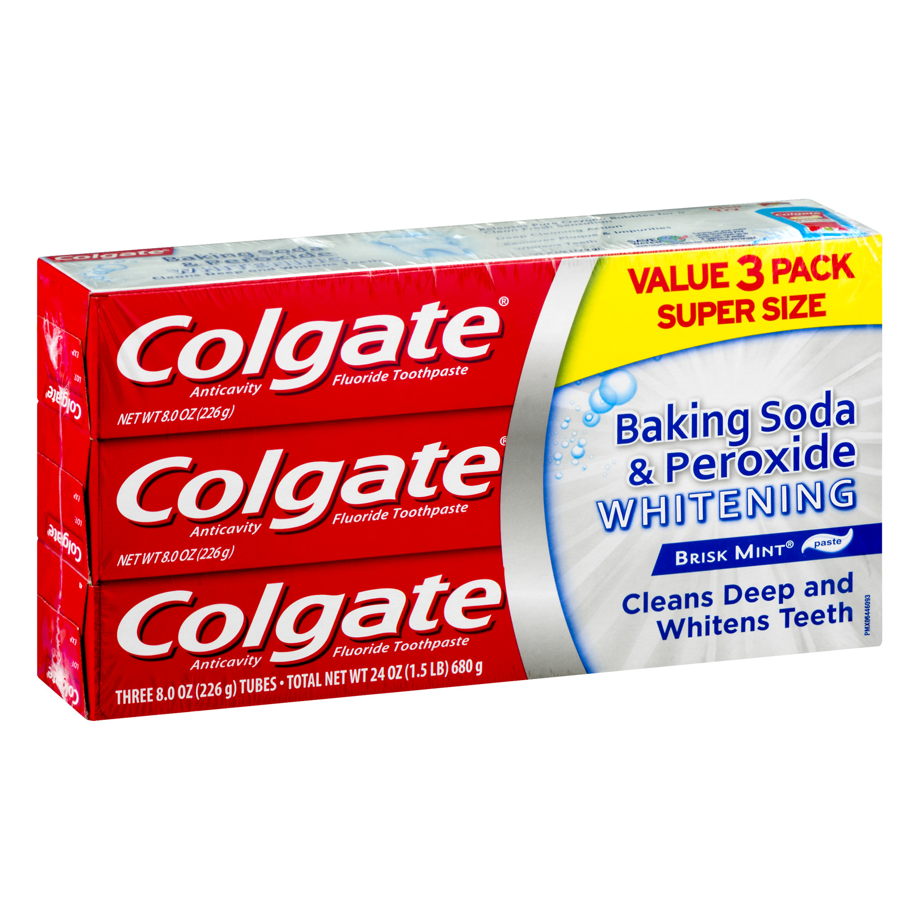 Colgate Baking Soda And Peroxide Whitening Toothpaste 8 Oz 3