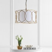 Safavieh Silas 21.5 In. Dia. Adjustable Pendant Lamp, Gold
