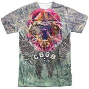 Cbgb - Graffiti Skull - Short Sleeve Shirt - X-Large