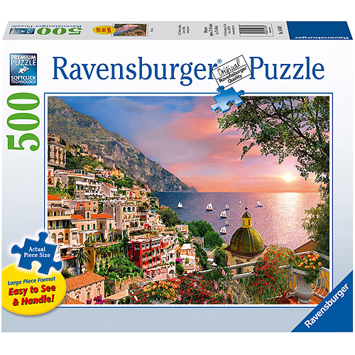 Ravensburger Positano Large Format Puzzle, 500 Pieces