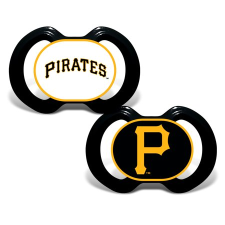 Pittsburgh Pirates Infant 2-Pack Pacifiers - No Size (Baby Pirate Pacifier)