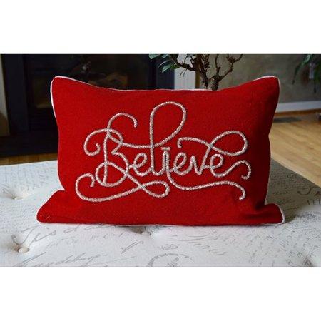 The Holiday Aisle Hera Nothing Like Christmas Lumbar Pillow ()