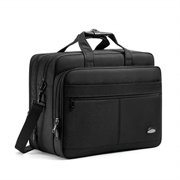 18-18.5 inch laptop bag,water resisatant business laptop briefcase,expandable high capacity shoulder bag,nylon multi-functional shoulder messenger bag for men fits 17.3 inch loptop,computer,tablet