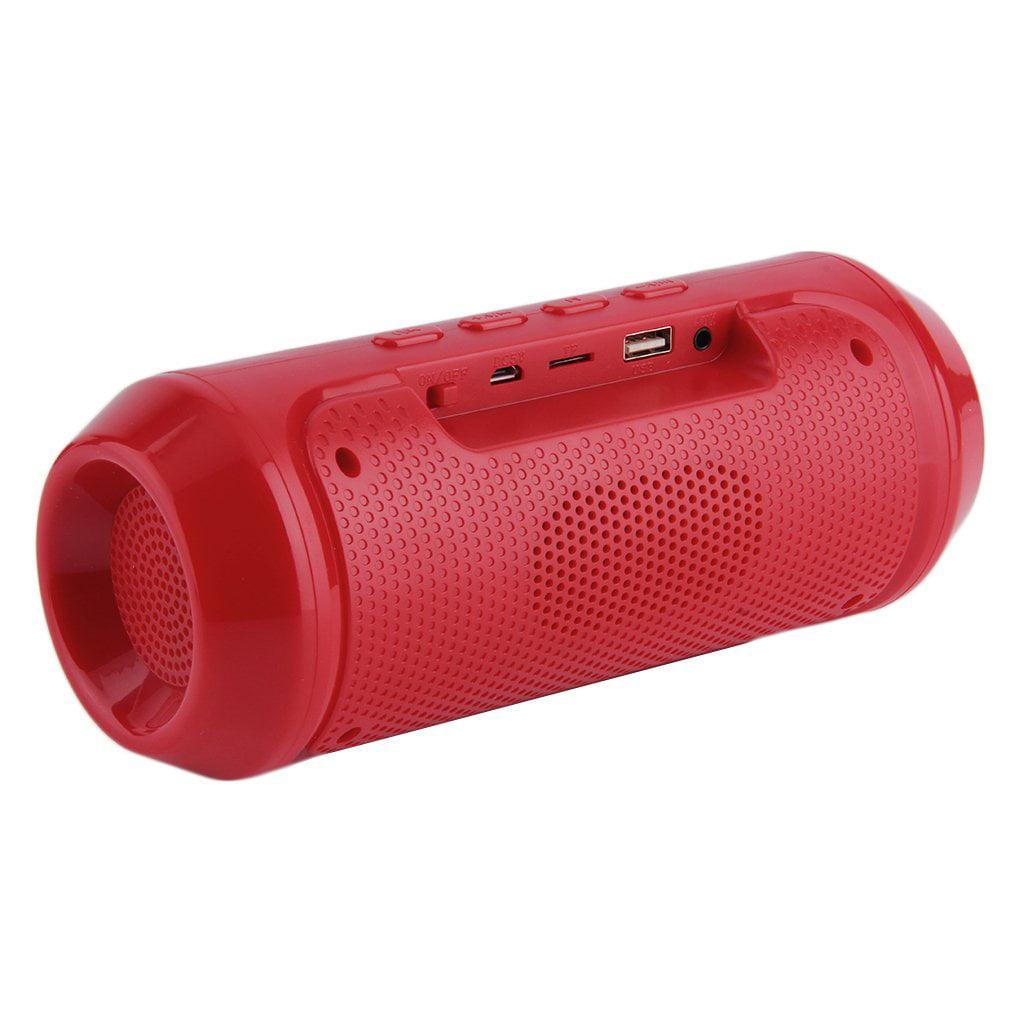 Portable LED Light Stereo Wireless Bluetooth Speaker For Phone Laptop Tablet