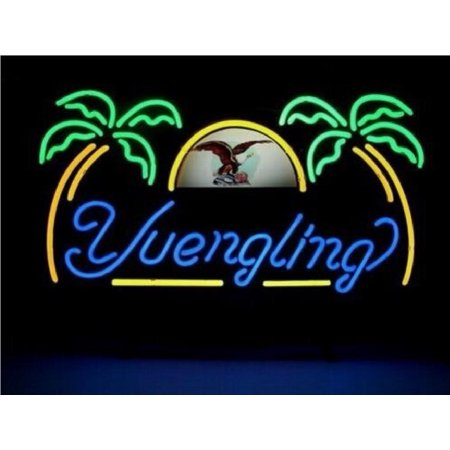 Desung Brand New Yuengling Lager Eagle Neon Sign Handcrafted Real Glass Beer Bar Pub Man Cave Sports Neon Light 20 X 16  Wm26