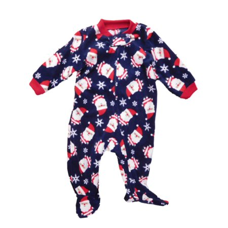 7cbf309b89 Carters - Carters Infant Boys Santa Claus Holiday Fleece Blanket Sleeper  Sleep   Play - Walmart.com