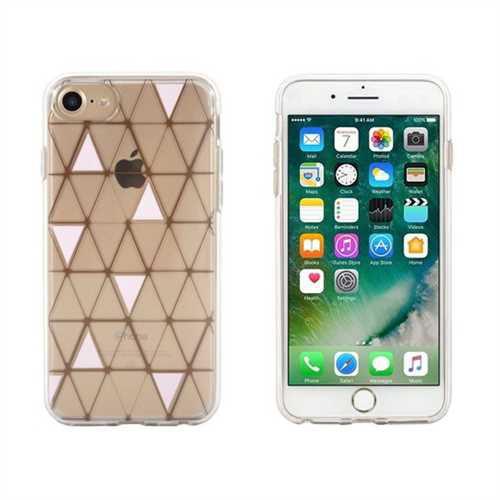 Refurbished End Scene iPhone 8/7/6s/6 Case - Copper Pink Loose Geo