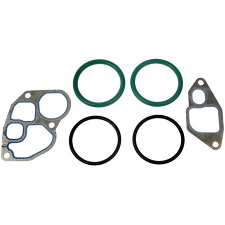 Dorman 904-224 Oil Cooler Gasket Kit Includes Gaskets and O-Rings Blitz Oil Cooler Kit
