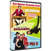 Gut Buster Comedy Pack: Anchorman: The Legend Of Ron Burgundy   Zoolander   Kingpin by Paramount