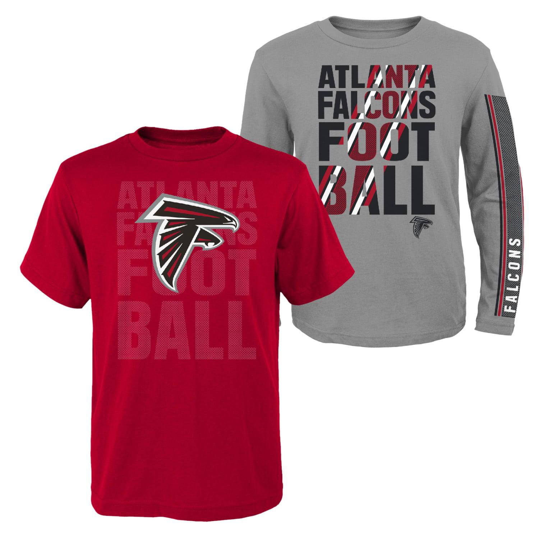 "Atlanta Falcons Youth NFL ""Playmaker"" 3 in 1 T-Shirt Combo Set"