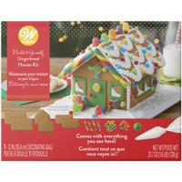 Wilton Build it Yourself Sweet & Petite Gingerbread House Decorating Kit