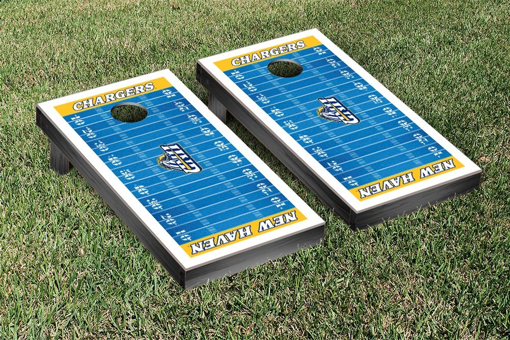 University Of New Haven Unh Chargers Regulation Cornhole Game Set
