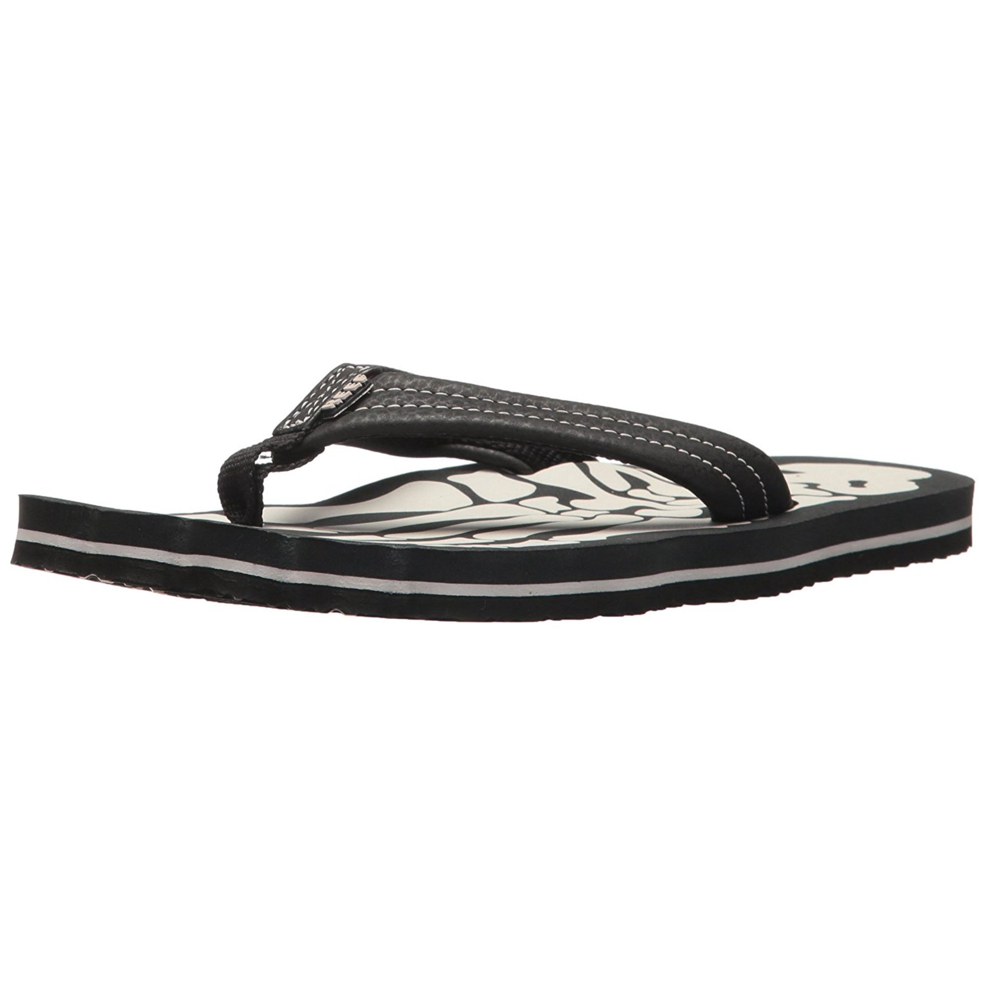 aae06c7ada45 Reef Girls Grom Skeleton Slip On Ankle Strap