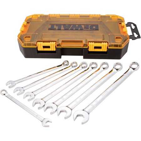 DEWALT Tough Box Tool Kit, Metric Combination Wrench Set