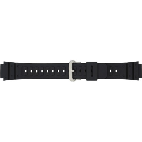Timex Men's Sport 18mm Resin Replacement Watch Band, Black