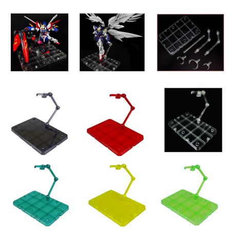 Moaere SHF Action Figure Base Stand Holder Display for HG RG SD Gundam - 2 Gundam Action Figure