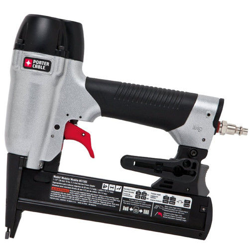 Factory-Reconditioned Porter-Cable NS150CR 18-Gauge 1/4 in. Crown 1-1/2 in. Narrow Crown Stapler Kit (Refurbished)