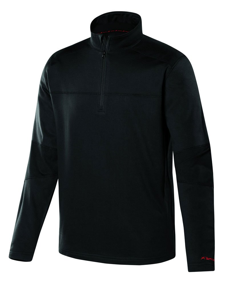 Terramar Military Fleece Expedition Weight 1 4 Zip Shirt Men's by Terramar