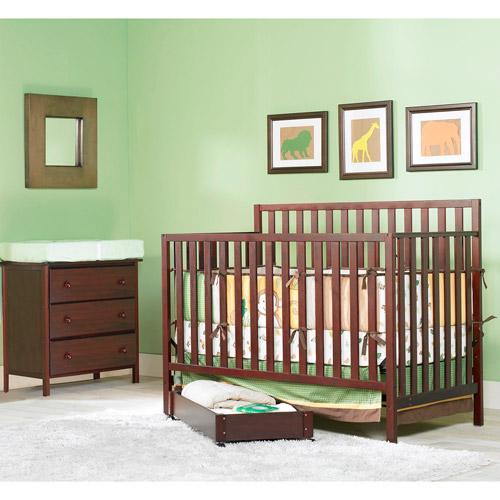 Graco Katelyn 4-in-1 Nursery Furniture Set Cherry