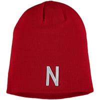 Nebraska Cornhuskers Top of the World N Logo EZDOZIT Knit Beanie - Scarlet - OSFA