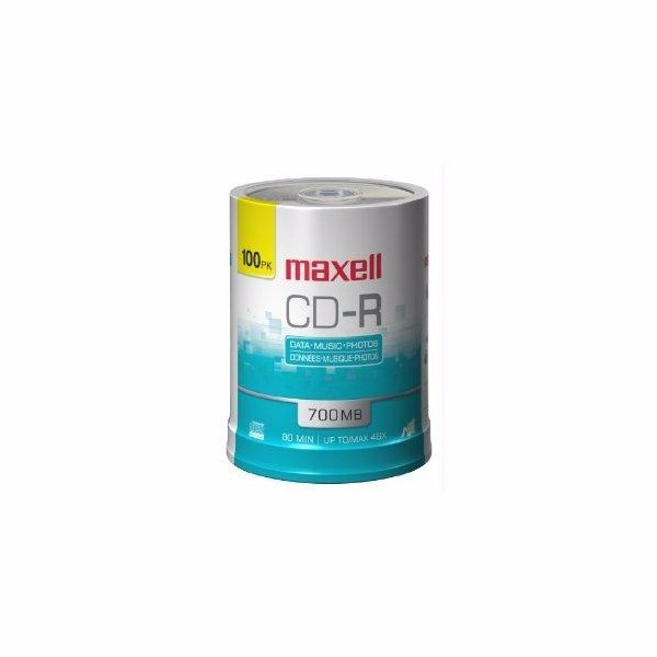 Maxell Maxell Cd-r 80min 700mb 48x-52x 100 Pack Spindle by Maxell