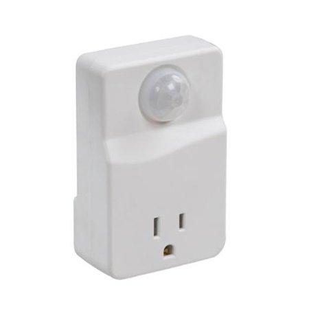 Westek Indoor Plug-In Motion Activated Light Control MLC4BC