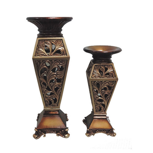 D'lusso Designs Sasha 2 Piece Vase Set