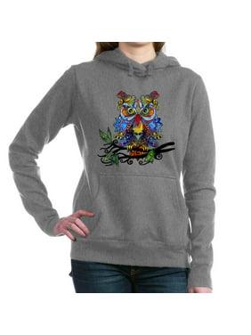 9d48b416 Product Image CafePress - Wild Owl Hooded Sweatshirt - Pullover Hoodie,  Classic & Comfortable Hooded Sweatshirt