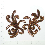 Expo Int'l Octopus Sequin Applique Pack of 2