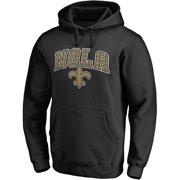 Men's NFL Pro Line Black New Orleans Saints Hometown Collection Pullover Hoodie