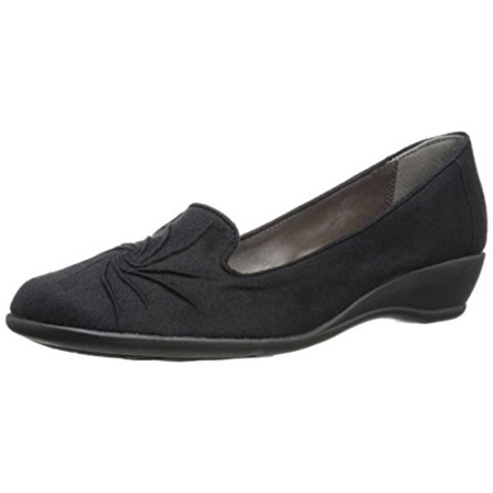 Womens Rory Casual Mini Wedge Smoking Loafers