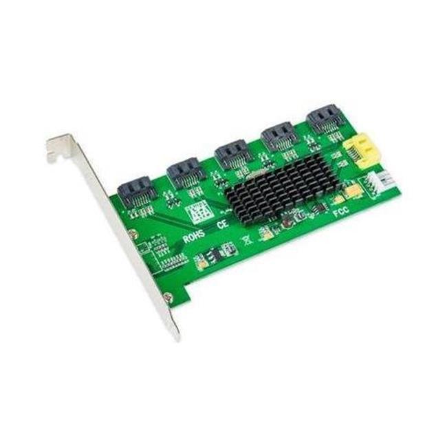 5-port SATA II, Port Multiplier; JMicron Chipset