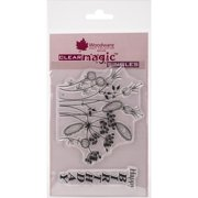 """Woodware Clear Stamps 3.5""""X5.5""""-Road Side Weeds"""