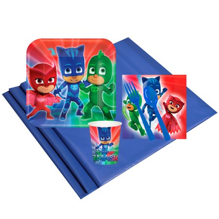 PJ Masks Childrens Party Supplies Pack - 8 Guests](Wholesale Childrens Party Supplies)