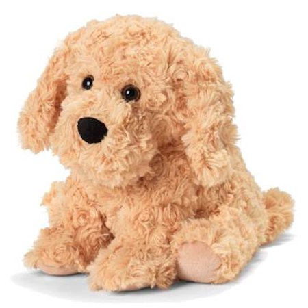 Golden Dog - Warmies Cozy Plush Heatable Lavender Scented Stuffed Animal Dog Stuff Animals