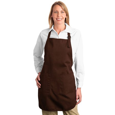 Port Authority Full Length Comfortable Pockets Twill Apron