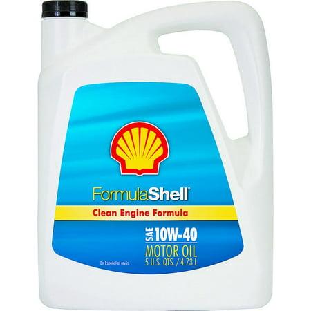 Formula shell 550022710 multi grade motor oil 5 qt amber for Formula shell motor oil