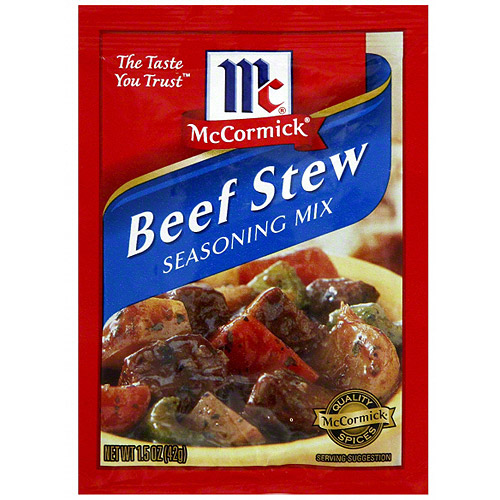***Discontinued***McCormick Beef Stew Seasoning Mix, 1.5 oz, (Pack of 12)