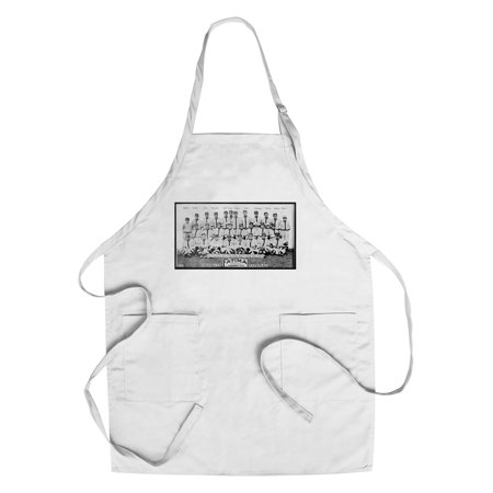 (Brooklyn Dodgers - Team Photograph - Baseball Card (Cotton/Polyester Chef's Apron))