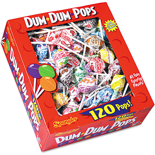 Spangler Assorted Flavors Dum-Dum-Pops, 120ct