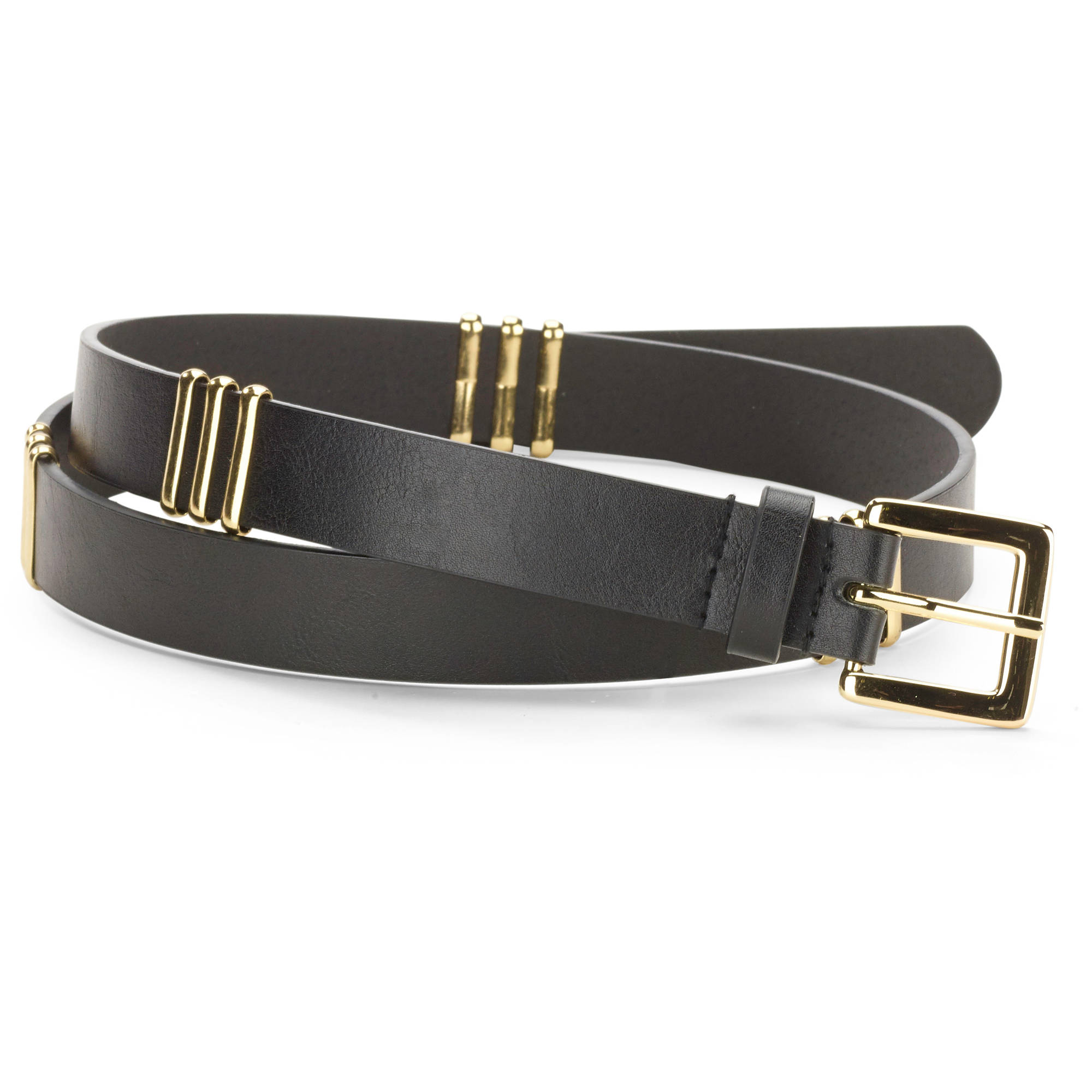 No Boundaries Women's Wrapped Bar Stud Belt