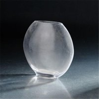 6.5 x 3.5 x 7 in. Glass Vase, Clear