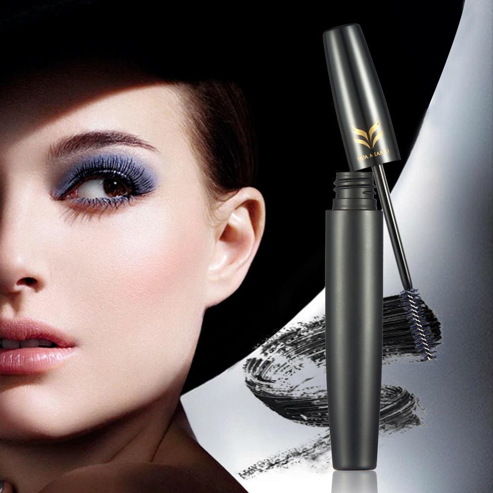HuaMianLi 3D Waterproof Curling Mascara + Eyelash Fiber Thickening Lengthening