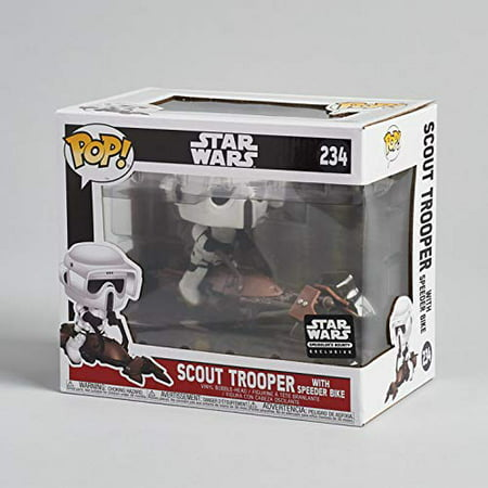 Scout Trooper with Speeder Bike Smuggler's Bounty Funko Pop! Star Wars Vinyl Figure