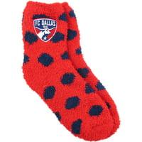 FC Dallas ZooZatz Women's Fuzzy Dot Socks - OSFA